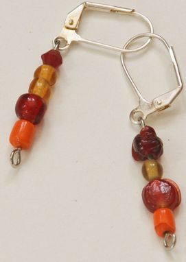 Custom Made Fiery Earrings
