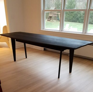 Custom Made Narrow Drop Leaf Console That Expands To A Full Size Dining Table