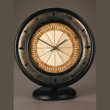 Custom Made Compass Wall/Mantle Clock