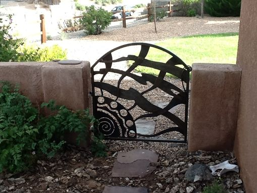 Custom Made Ironwork Garden Gate