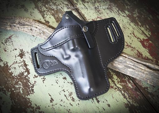 Custom Made Custom Leather Gun Holster For Smith And Wesson 629 Pd
