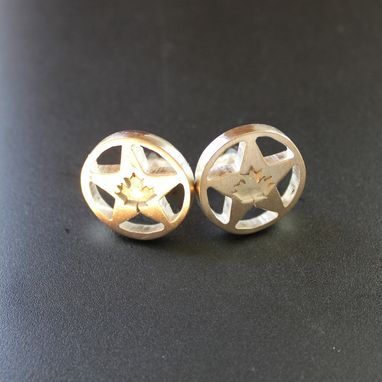 Custom Made Texas Star Cuff Links