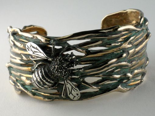 Custom Made Bumblebee Cuff, Branch Series Sold ( Can Be Ordered)