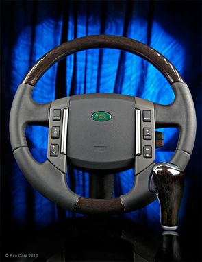 Hand Crafted Custom Wood Steering Wheels For Range Rover