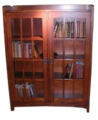 Custom Made Mission Bookcase