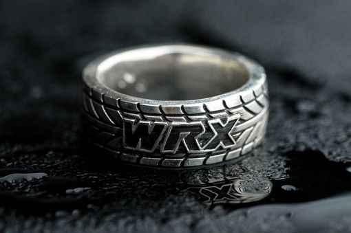 Custom Made Wrx Tire Tread Ring Customizable
