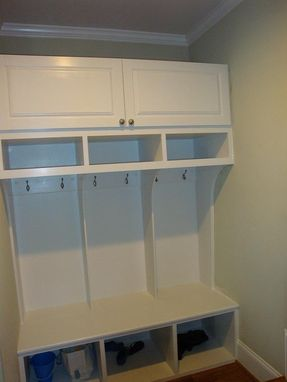 Custom Made Kitchen Cubby/Organizer
