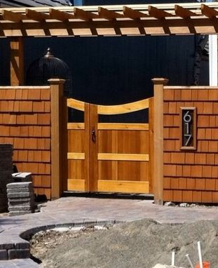 Custom Made Double Offset Gate