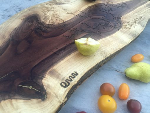 Custom Made Personalized Branded Or Engraved Serving Board