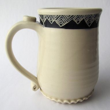 Custom Made Handmade Stoneware Mug