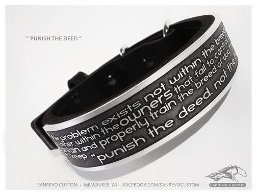 Custom Made Custom Dog Collar Gallery
