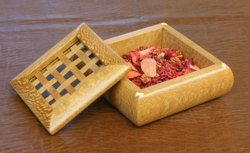 Custom Made Lacewood Potpourri Box