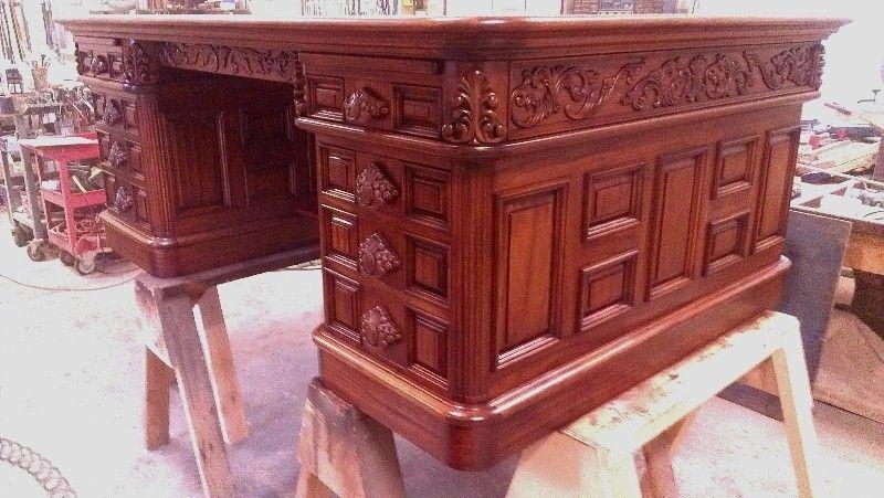 Custom Made Replica President Richard Nixon Desk - Handmade Replica President Richard Nixon Desk By Lundberg Bros