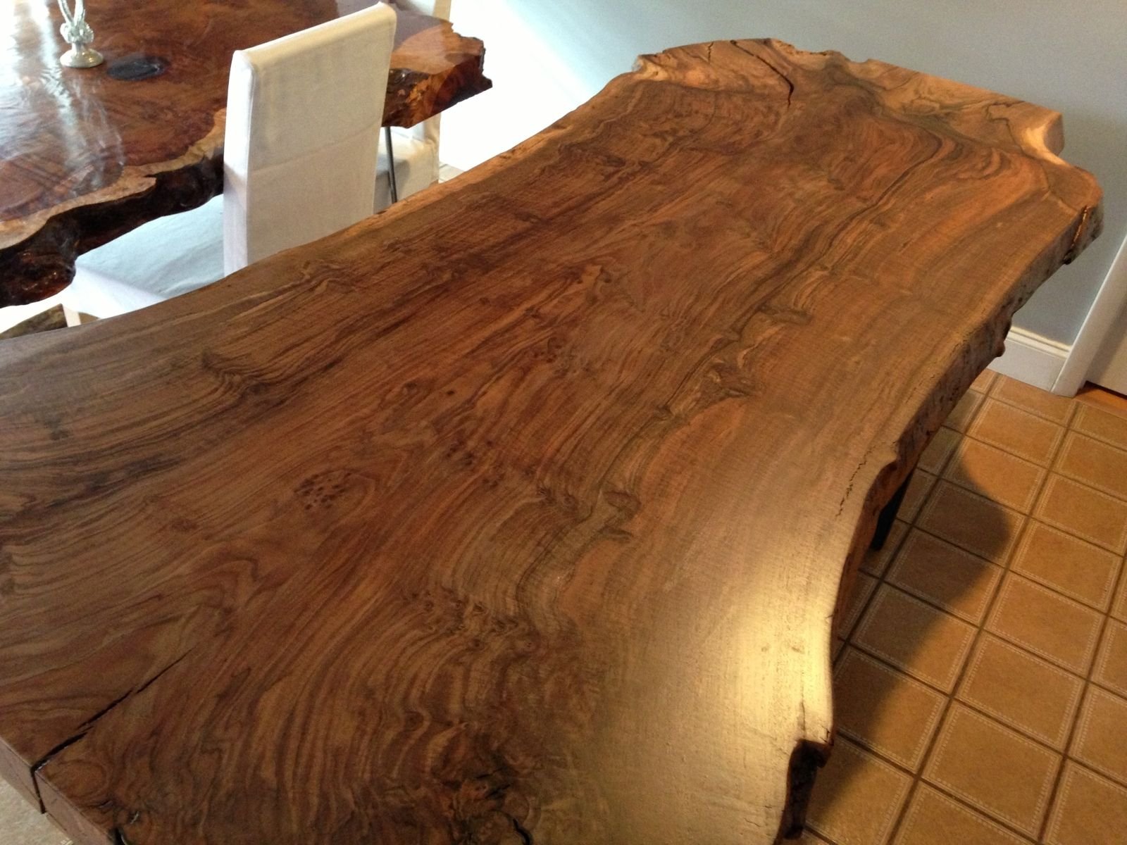 Handmade Live Edge Claro Walnut Dining Table By Ozma Design Custommade