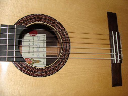 custom made high end classical guitar by o 39 brien guitars. Black Bedroom Furniture Sets. Home Design Ideas