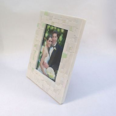 Custom Made Broken China Mosaic Picture Frame 5x7 – Custom Made From Your Broken China