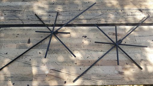 Custom Made Metal Minimalist Decorative Star