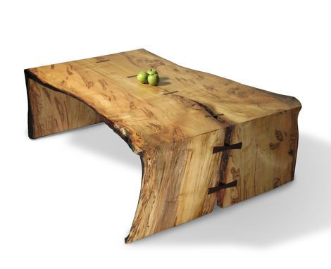 Custom Made Slab Coffee Tables