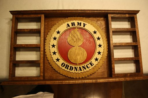 Custom Made Military Coin Holder
