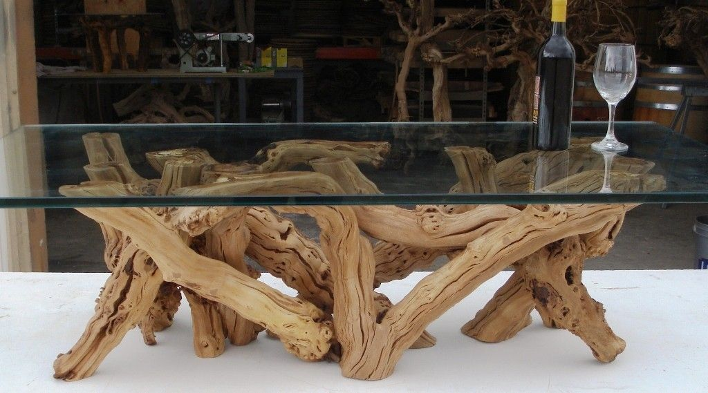 Buy A Custom Vinya Alionza Old Vine Grapevine Coffee Table Made - Grapevine coffee table