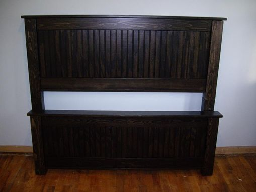 Custom Made Carolina Style Bed