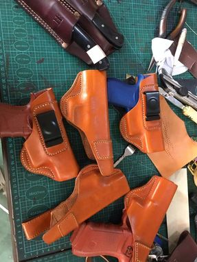 Custom Made Gun Leather Gun Holster