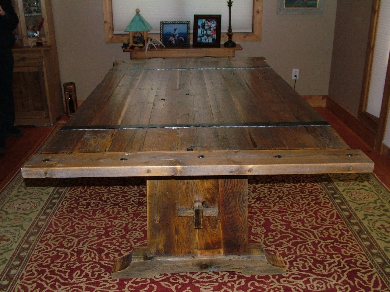 Hand Crafted Barnwood Dining Table by Bluebuck Woodworking ...
