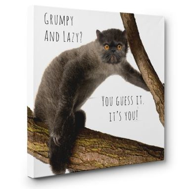 Custom Made Grumloth Hybrid Animal Canvas Wall Art