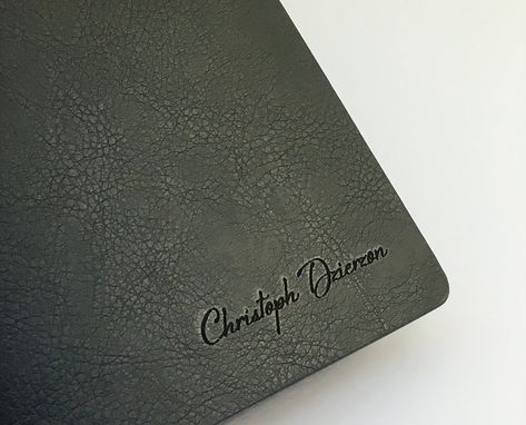 Custom Made Custom Journal Optional 24-Carat Gold Unlimited Engraving