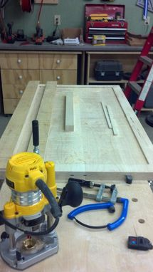 Custom Made Cover/Cutting Board For Kitchen Island Cooktop.
