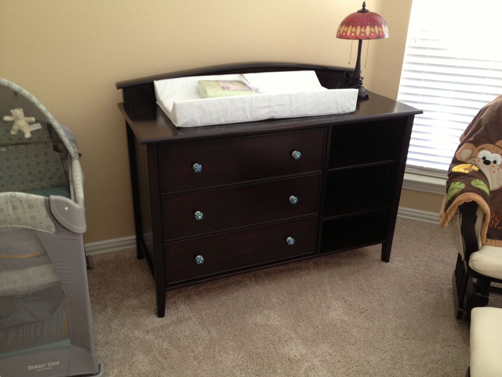 hand crafted dresser changing table for baby by tom 39 s. Black Bedroom Furniture Sets. Home Design Ideas