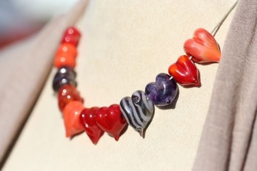 Custom Made Custom Sweetheart Bead.  Give Your Sweetheart A Pendant With Your Dna In It