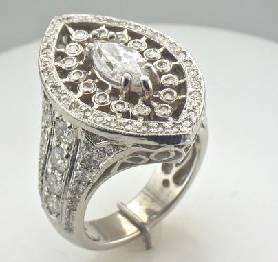 Custom Made Newmarq Engagement Ring