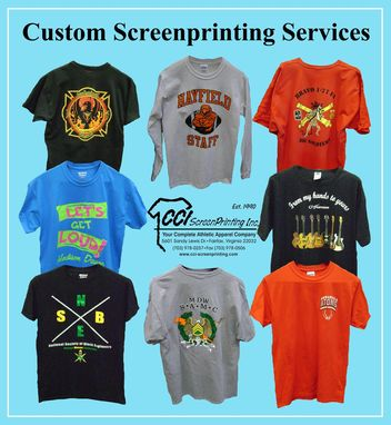Custom Made Screenprinting Services