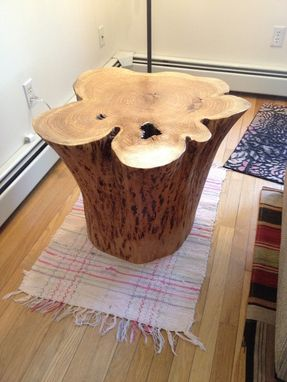 Custom Made Stump, Tree Base End Tables