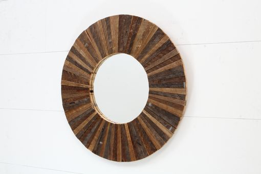 Custom Made Circle Mirror 21