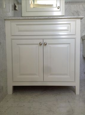 Custom Made Custom Vanity And Medicine Chest