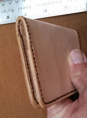 Custom Made Au Naturel Thin Card Front Pocket Wallet