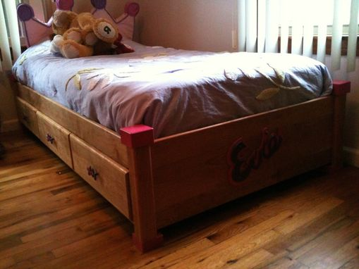 Custom Made Child's Captain's Bed