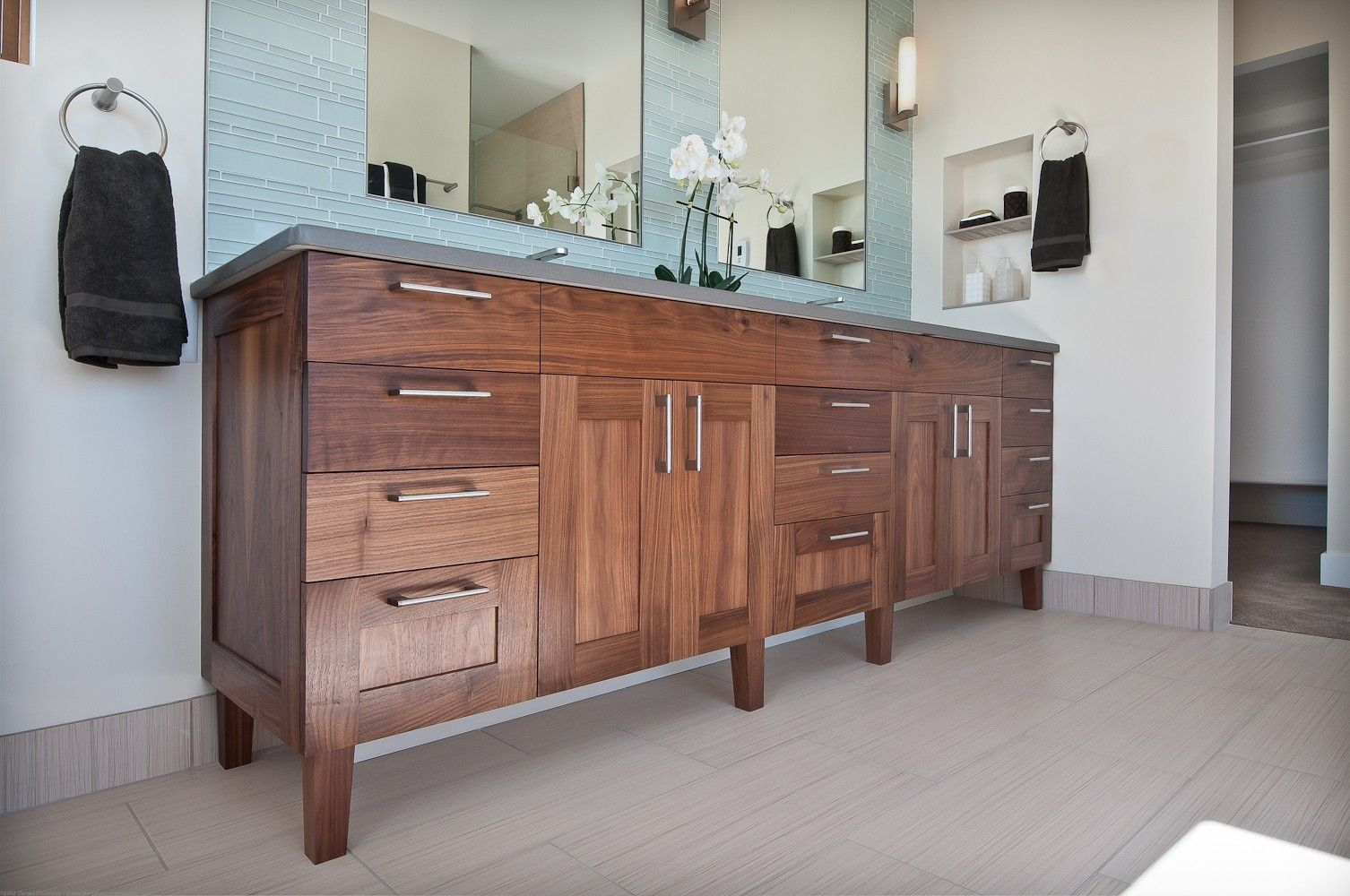 Hand Made Bathroom Vanity by Marc Hunter Woodworking | Design ...
