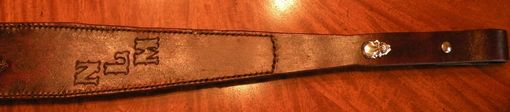 Custom Made Remington 700 30-06 Leather Rifle Sling.