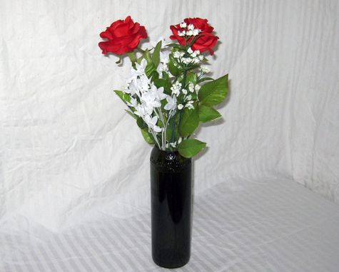 Custom Made Wine Bottle Vase: Costa Di Bussia