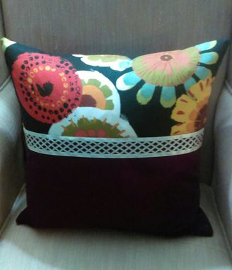 "Custom Made 18"" X 18"" Decorative Accent Throw"