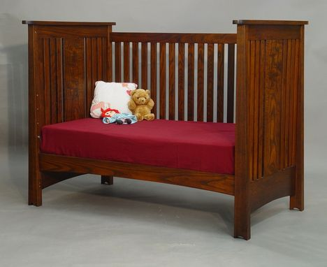 Custom Made Ash Mackintosh Crib