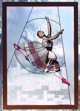 Custom Made Giselle - The Ballet In Stained Glass