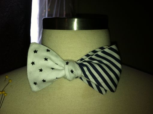 Custom Made American Flag Bow Tie