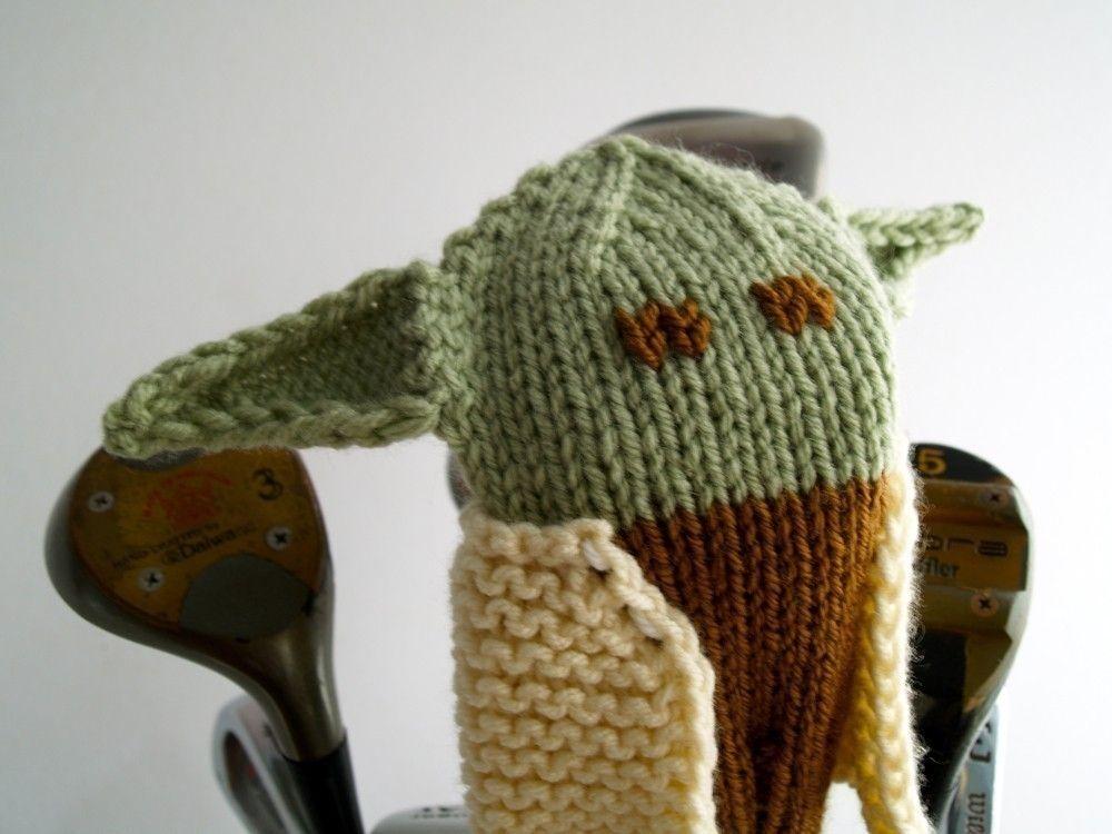 Custom Made Knit Pattern Yoda Golf Club Cover Pdf By Tracey Knits Custommade Com