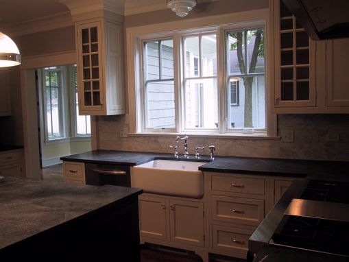 Custom Made Painted Inset Kitchen