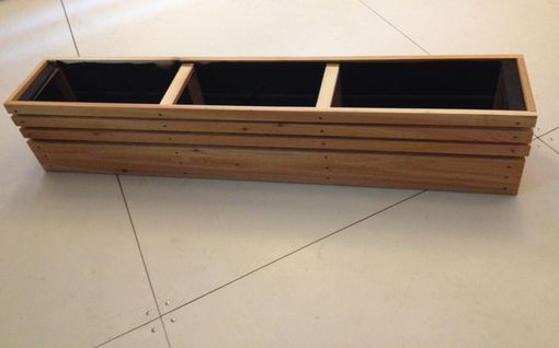 Custom Made Window Planter Box