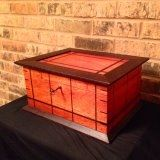 Custom Made Bloodwood And Wenge Humidor